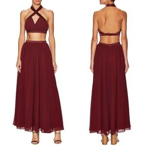 Fame and Partners Skirts - NEW Fame and Partners Cali Two Piece Skirt Set